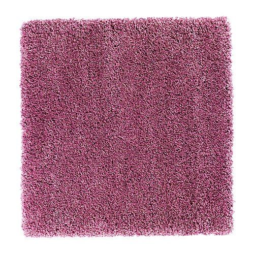 High pile rug we found on sale at ikea. It\'s a funky mauve/pink. It ...