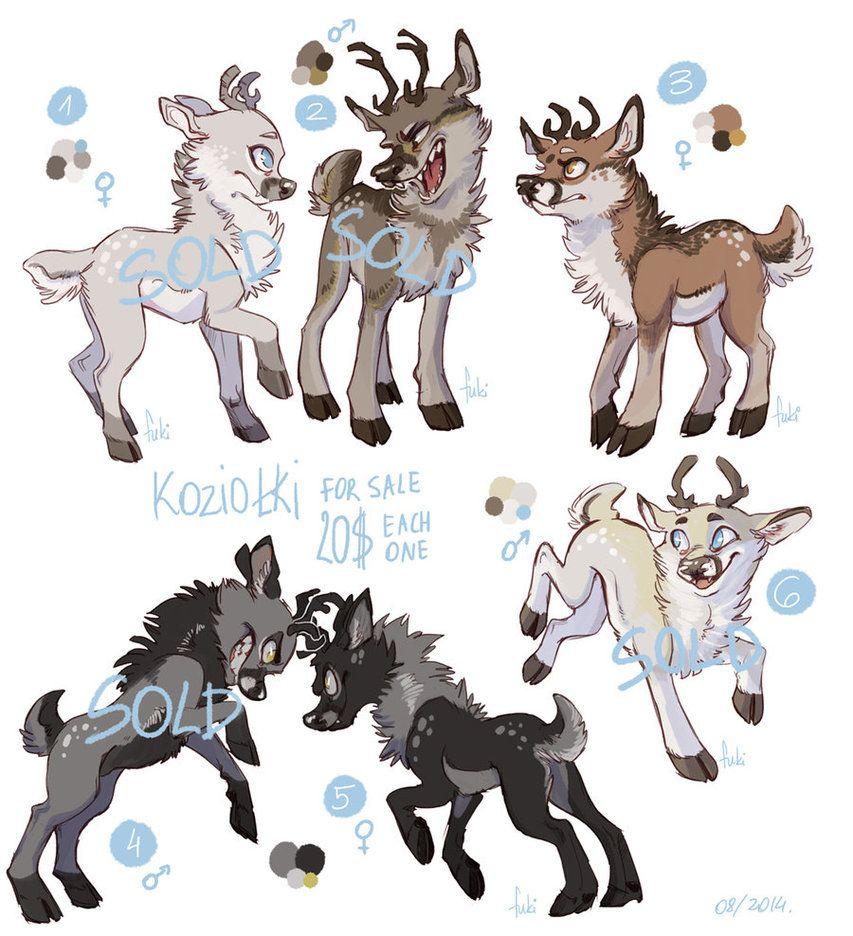 KOZIOLKI sold by Fukari Cute animal drawings, Furry