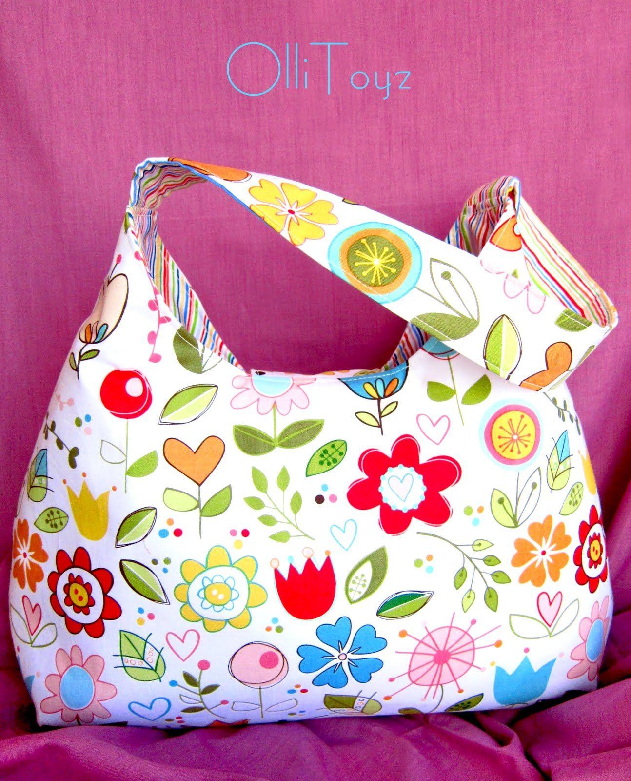 5bfdac601411 Как сшить пляжную сумку своими руками: выкройка с описанием сумки из ткани