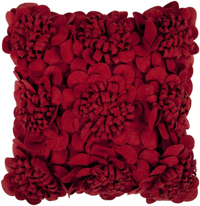 Novelty Throw Pillows | Eva\'s Fleurs de Jardin Floral Decorative ...