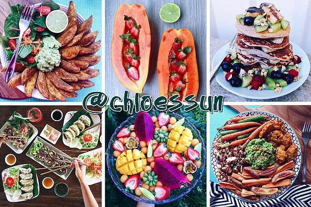 Instagrams Veganos