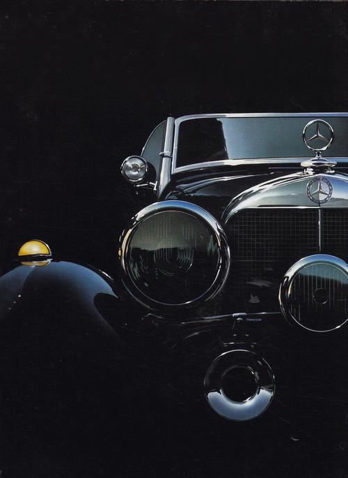 1930s Classic 540K Mercedes-Benz