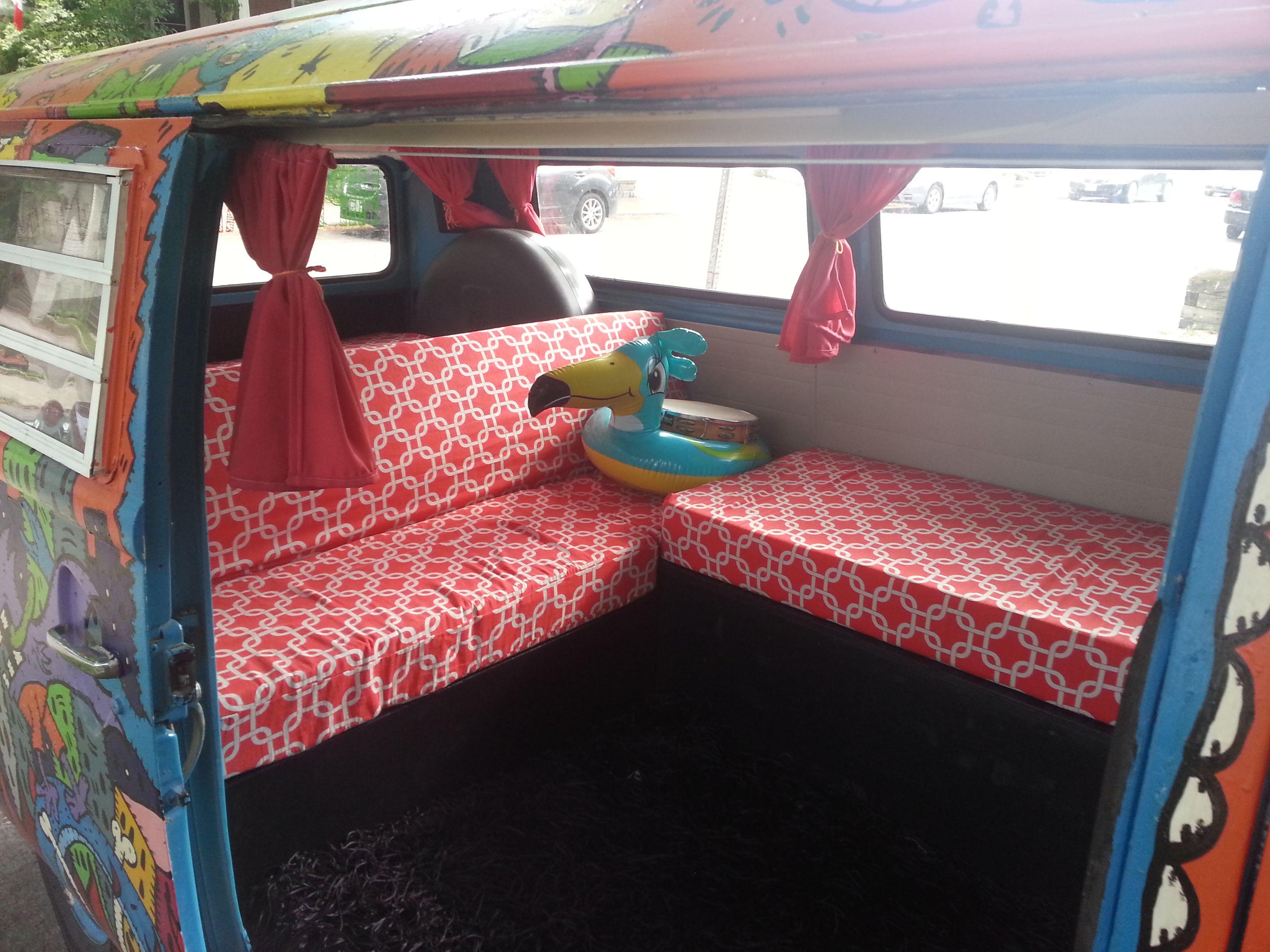 Volkswagen bus vanagon take a look volkswagon new interior run and - Hippie Van Custom Interior Volkswagen Combi Transporter