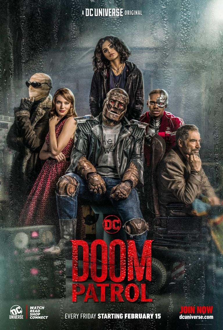 'Doom Patrol': DC Universe Assembles the Weirdest Super Team in Exclusive Poster