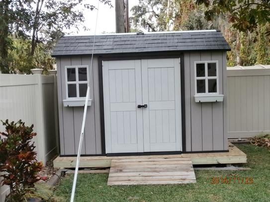 Keter My Shed 11 Ft X 7 5 Ft Fully Customizable Storage Shed