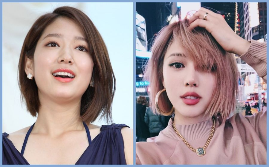 7 Bob Hairstyles Inspired By Your Favourite Korean Celebs Bob Hairstyles Korean Long Hair Korean Hairstyle