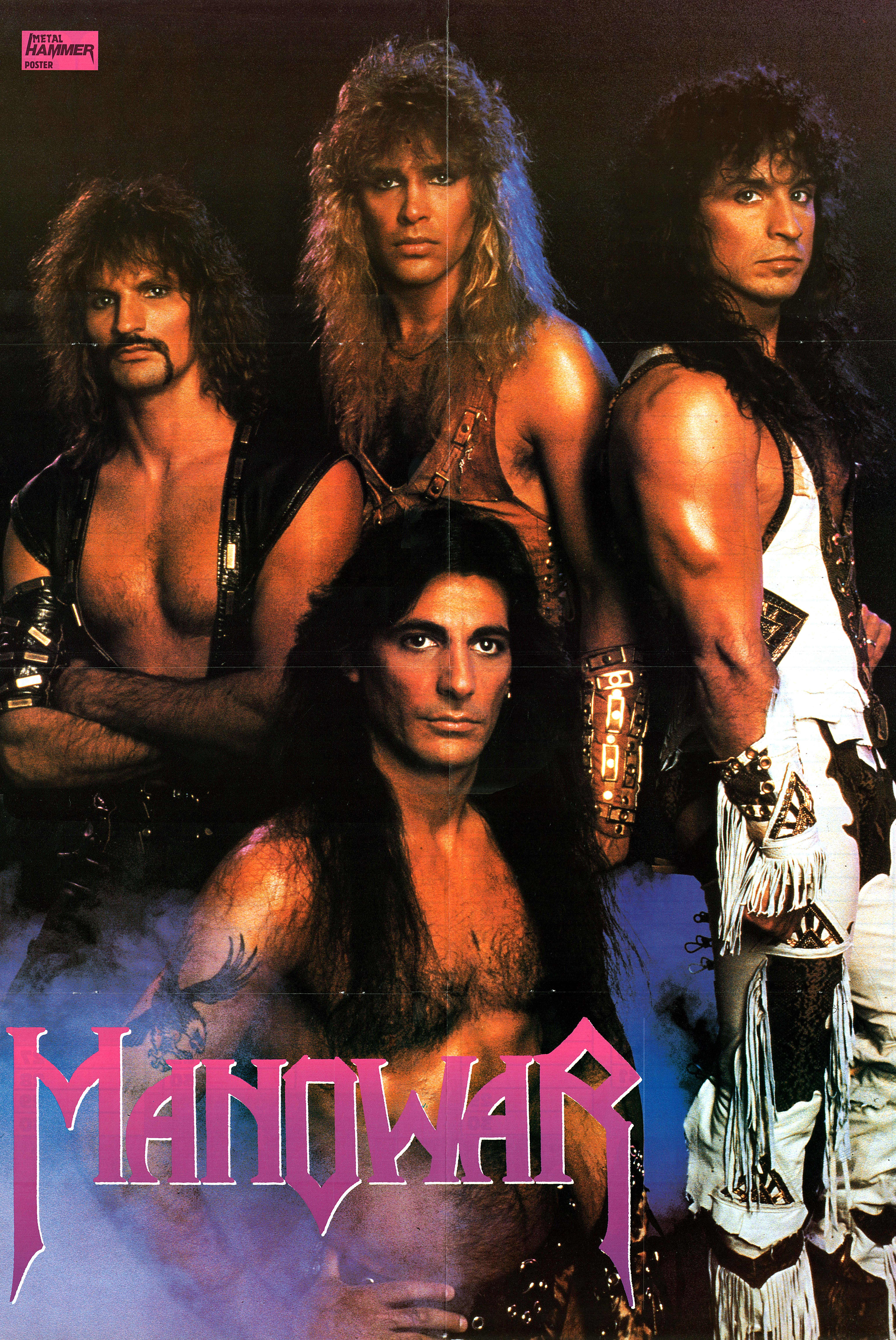 Manowar Rock And Roll Band Wallpapers 80s Metal Bands