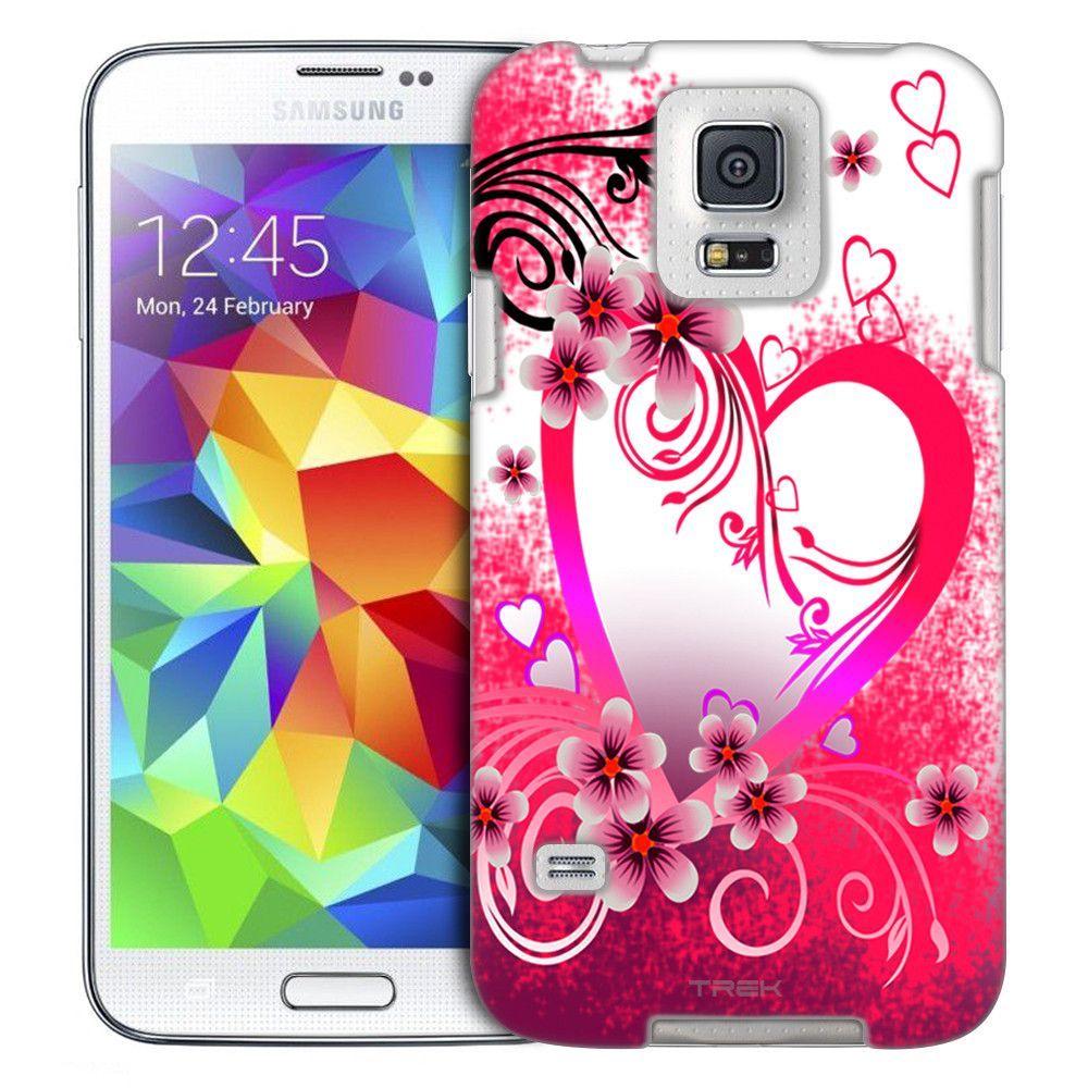 Samsung Galaxy S5 Pure Love on White Slim Case