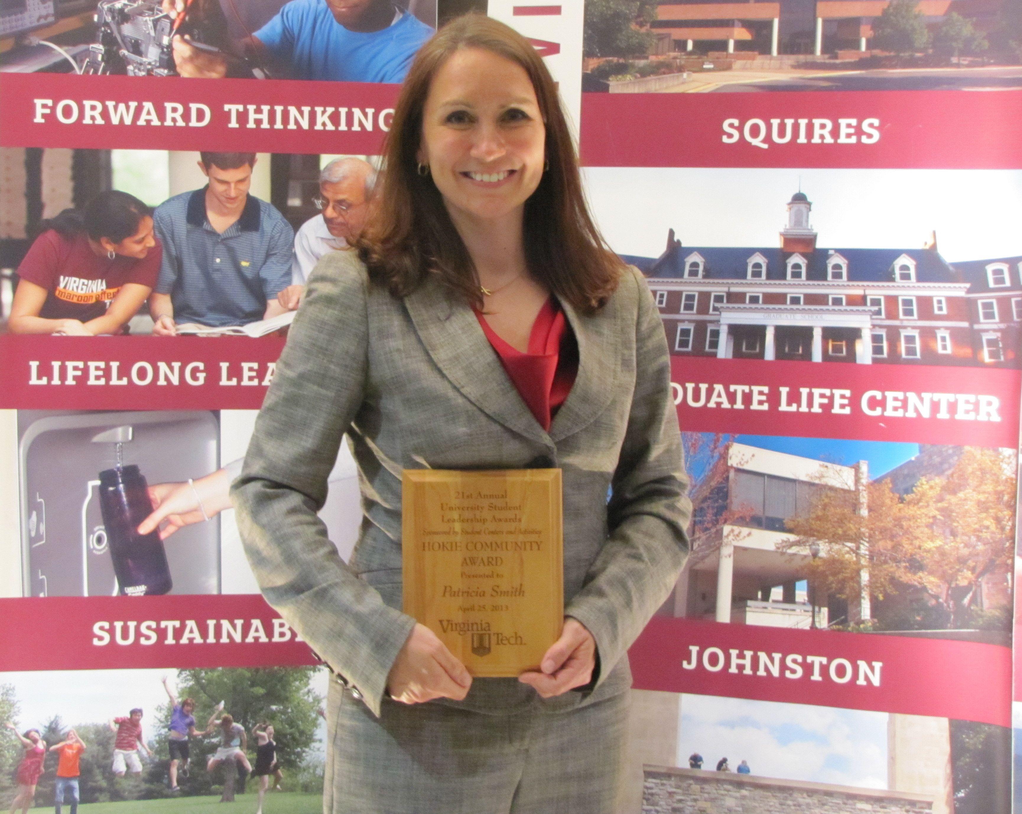 Hokie Community Award: Patricia Smith