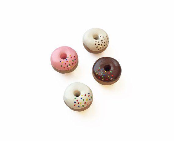 French Macaroon Cookie Kitchen Refrigerator Locker Button Magnet