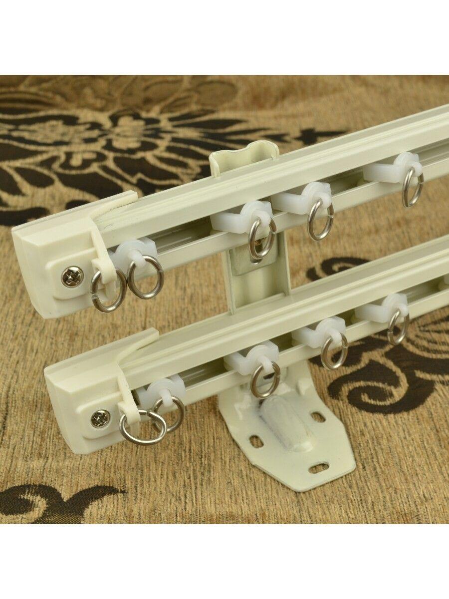 QYR6522 Aluminum Alloy Double Curtain Track Set | Cheery Curtains ...