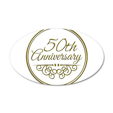 50th Anniversary Wall Decal