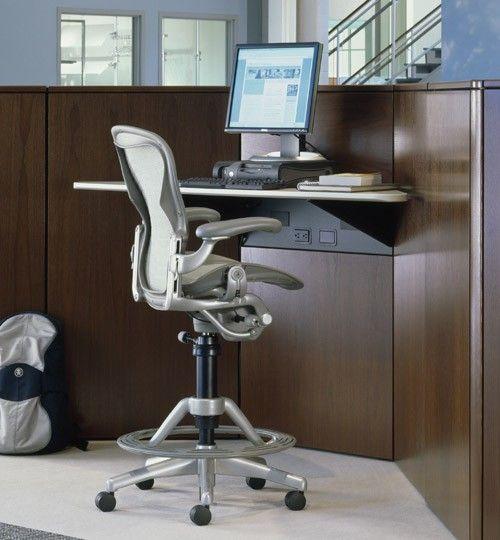 Herman Miller Aeron® Chair - Fully Loaded Aeron® Work Stool