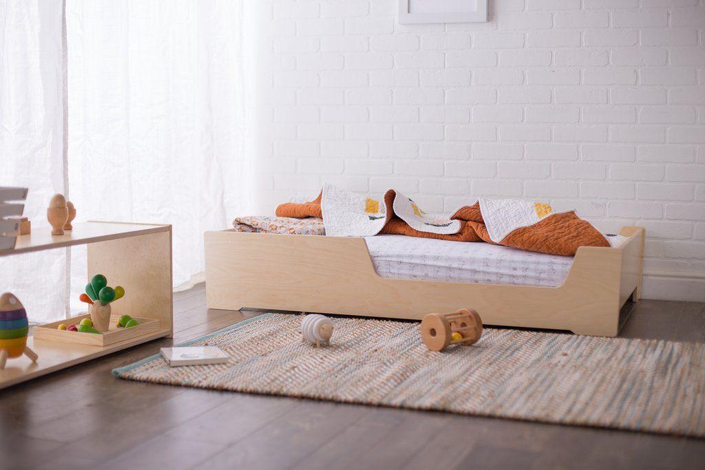 Montessori Floor Bed Toddler Floor Bed Floor Bed Toddler Bed