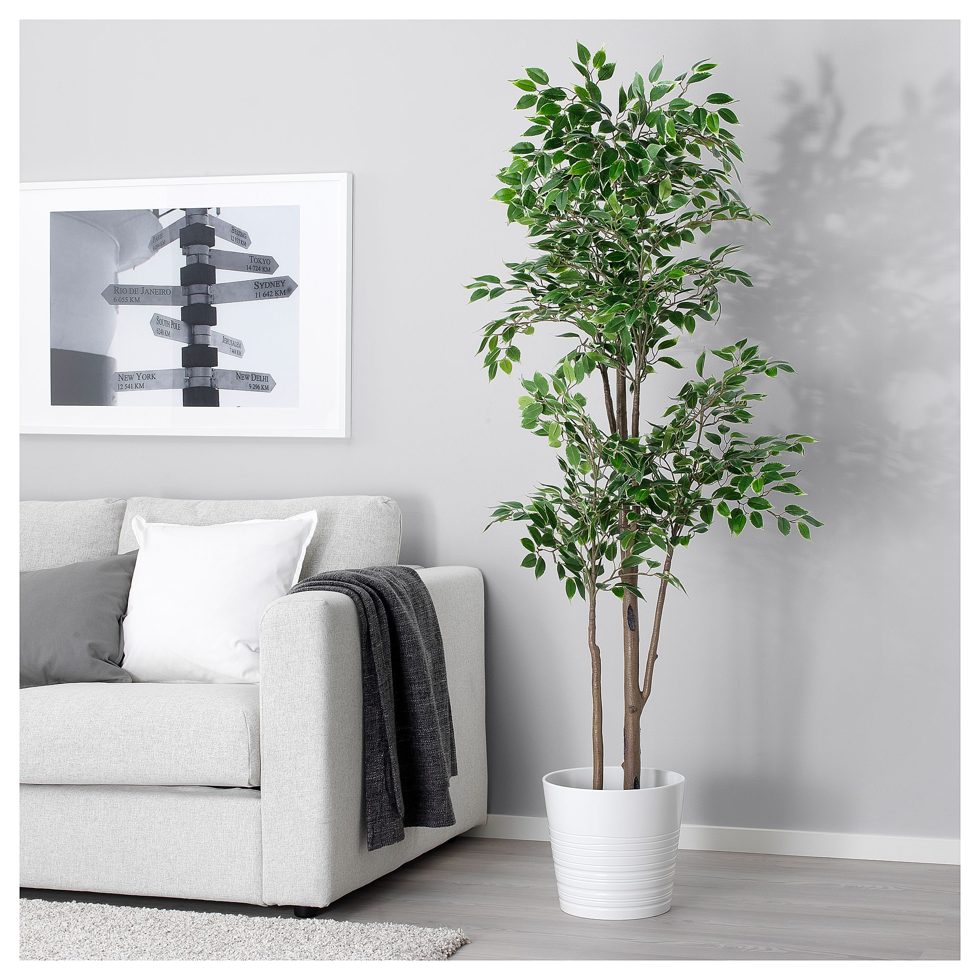 Ikea Fejka Weeping Fig Artificial Potted Plant Cheap Artificial Plants Plant Decor Indoor Artificial Potted Plants