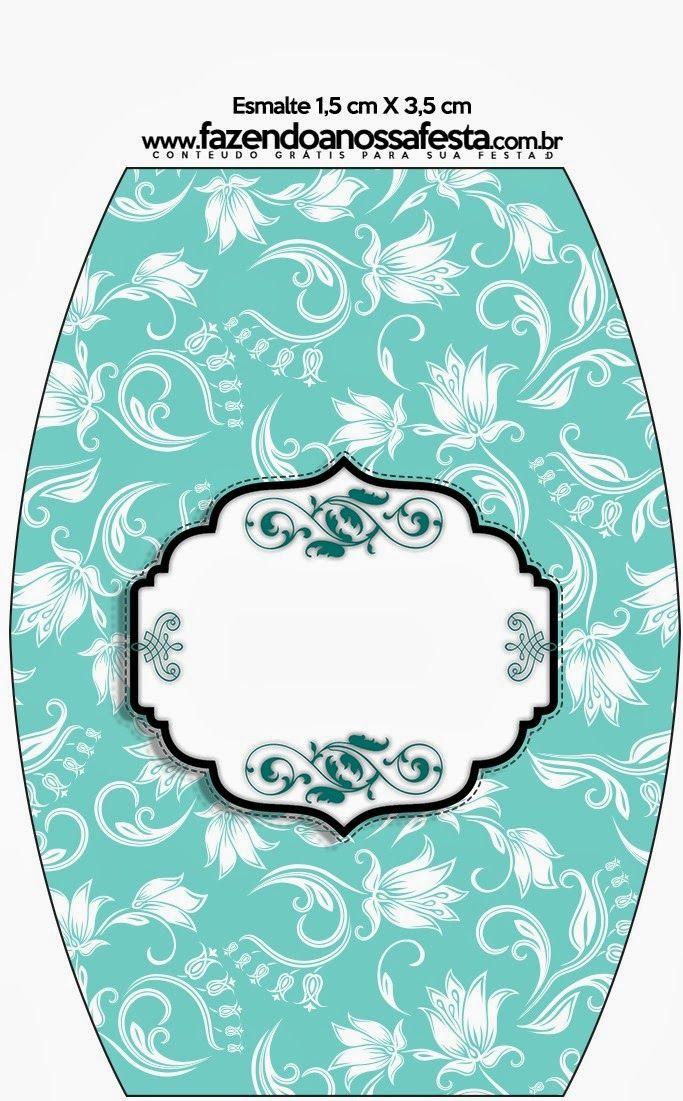 Fiesta Tiffany: Etiquetas para Candy Bar para Imprimir Gratis. | Ideas y material gratis para fiestas y celebraciones Oh My Fiesta!