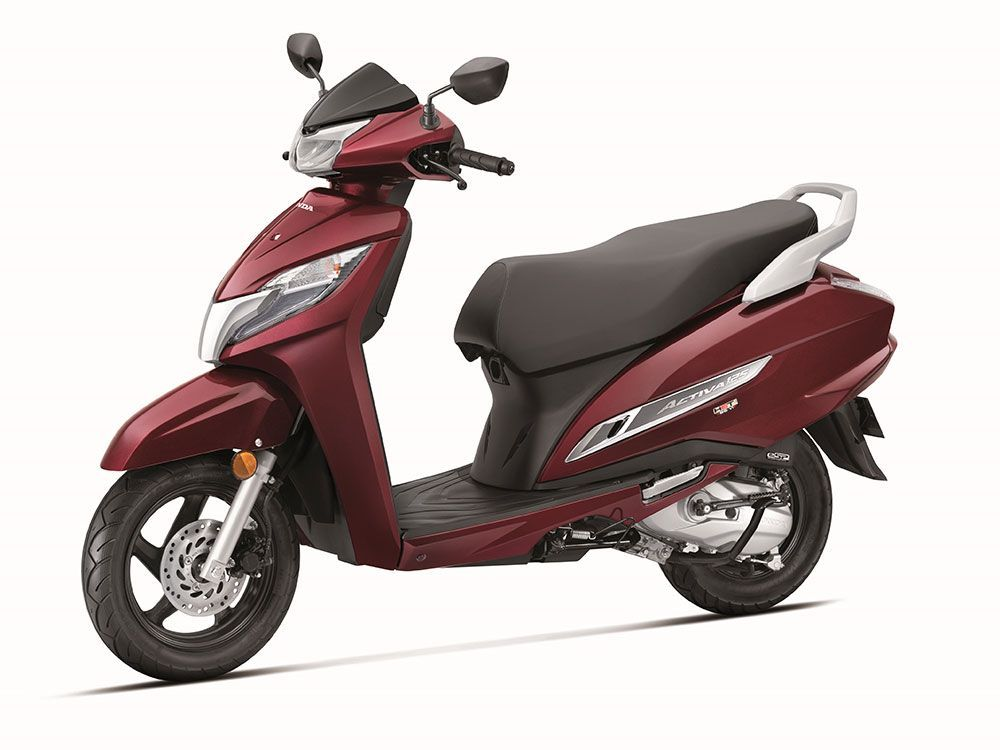 Honda Activa 125 Bs6 Launched At Rs 67 490 Honda Cool Sports Cars Best Luxury Sports Car