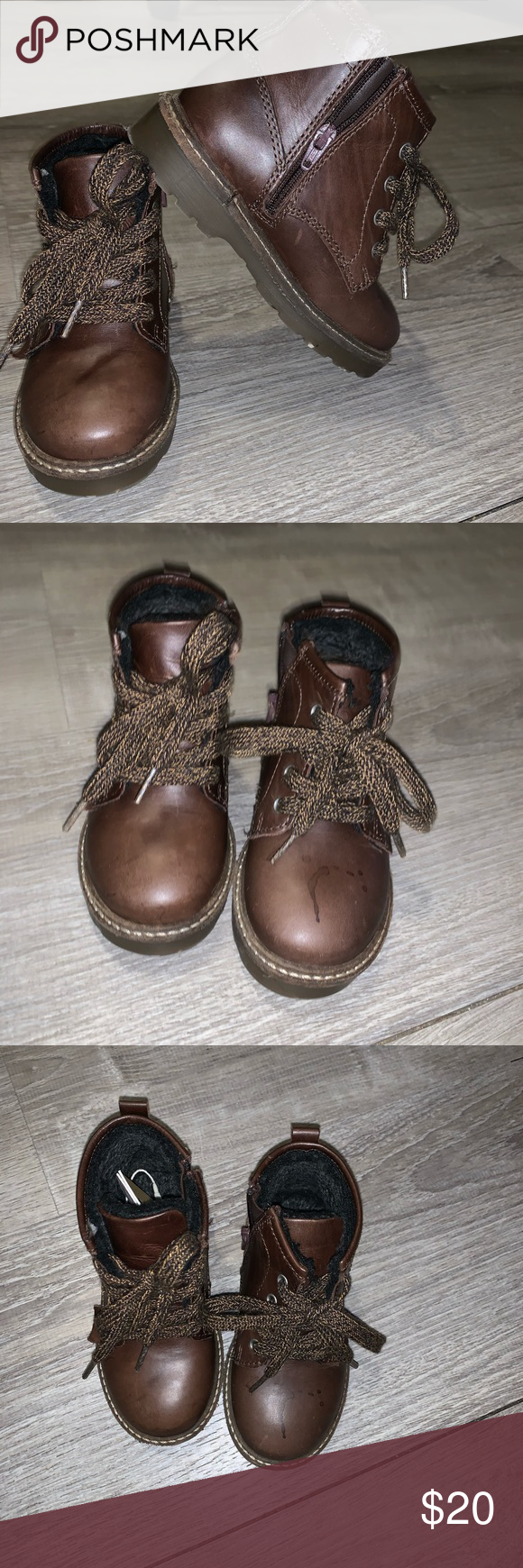 ‼️SALE‼️ Zara baby leather boots USED/WORN These cute and stylish  Zara …