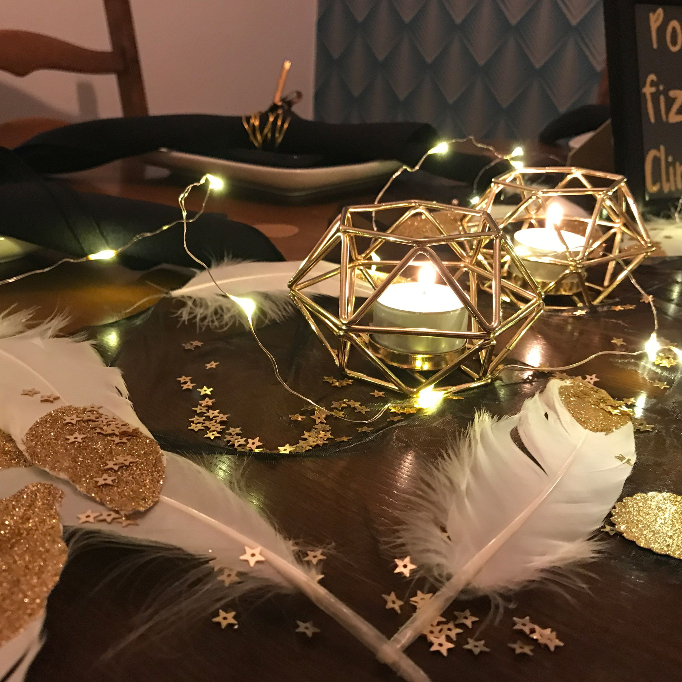 Black And Gold Party Box Party In A Box Black And Gold Theme