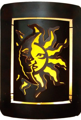 Eclipse Candleholder | Wall art designs, Outdoor decor and Paint ...