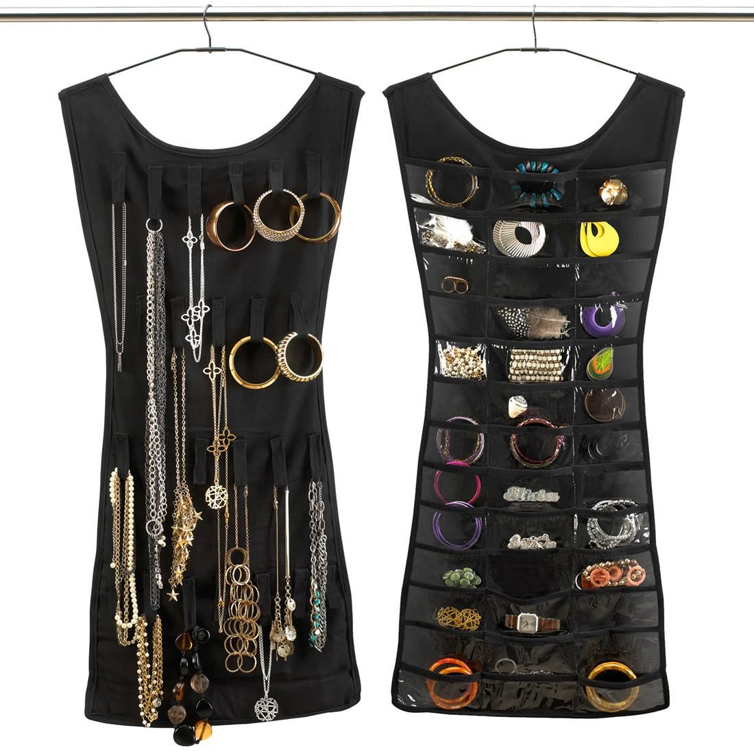 Cabide para Bijuteria Vestido Organizao Pinterest