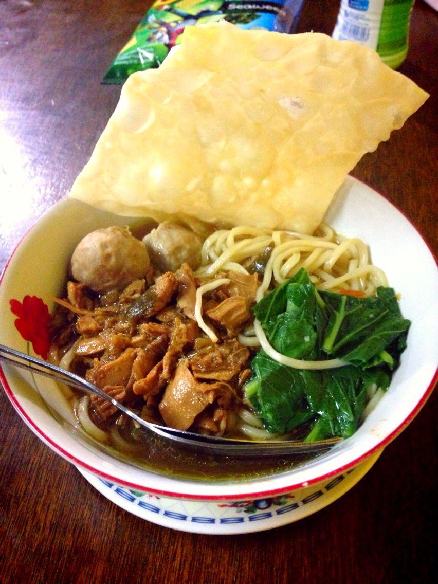 Mie Ayam Pangsit Jl Meranti Samarinda Makanan Dan Minuman Ide Makanan Resep Makanan