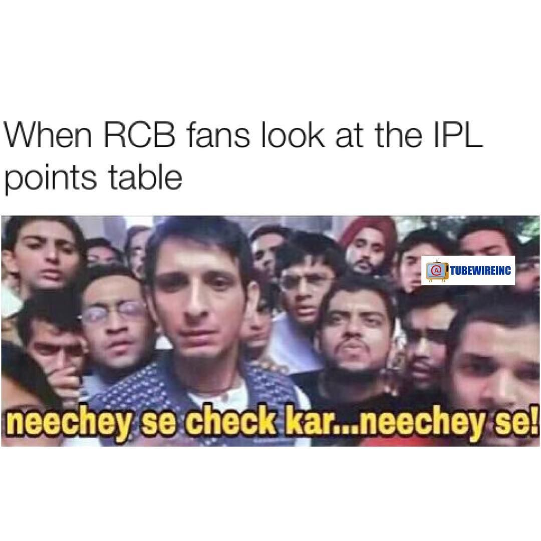 But I Am The Faaaan Of Rcb It Will Win Soon Latest Funny Jokes Really Funny Memes Crazy Funny Memes