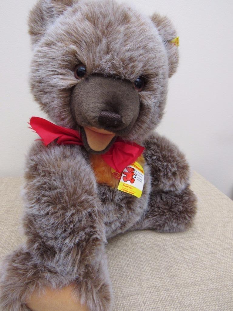 "LARGE Vintage Steiff ZOTTY Teddy Bear 21"" w/ TAGS 0305/50"