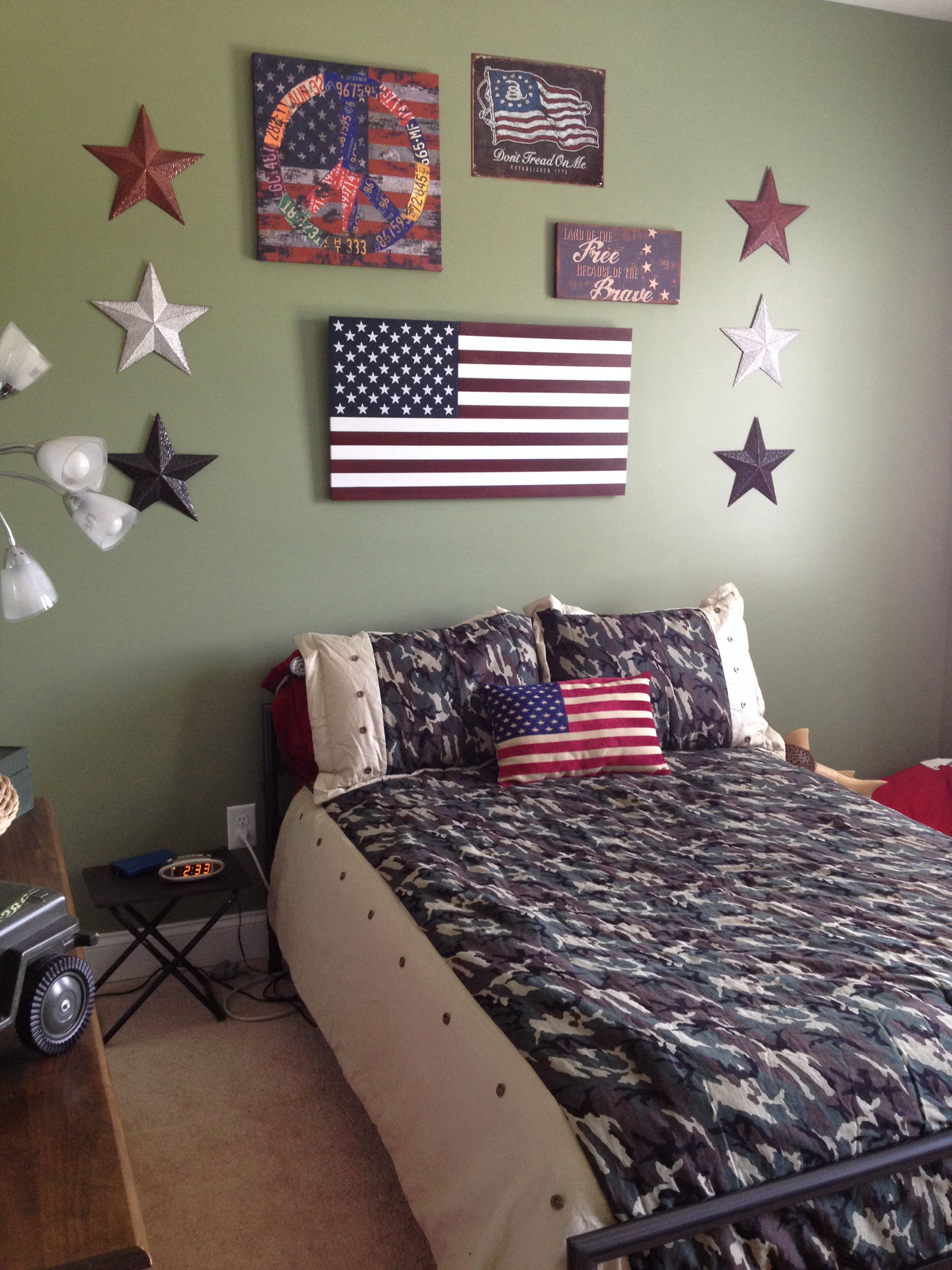 Military Themed room | Tomboy room ideas, Boys room decor ...