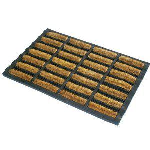 Best Jvl Rubber And Coir Tuffscrape Doormat 40 X 60 Cm Outdoor Indoor Use Practical And Attractive 4 640 x 480