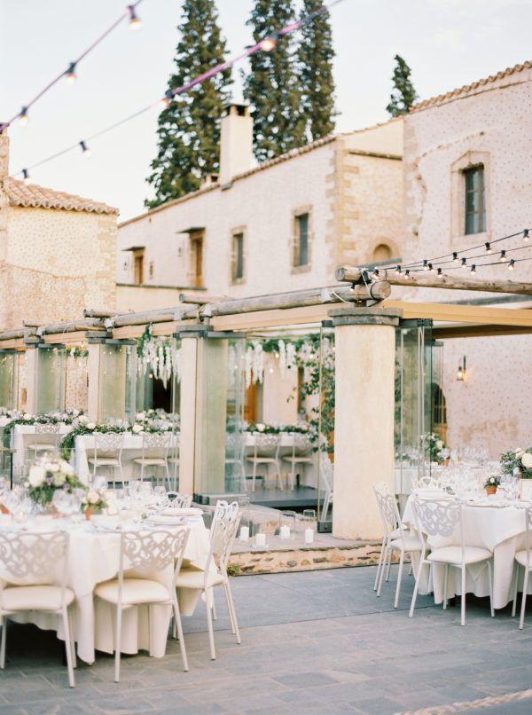 Mamma Mia, the Most Gorgeous Kinsterna Hotel Wedding in Greece