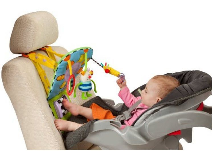 Infant Feet Fun Car Toy Activity Center For Rear Facing Baby Baby Car Seats Baby Car Toy Car Seat Toys