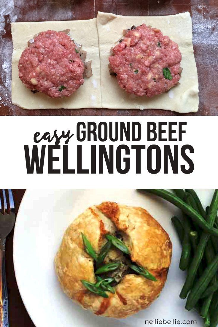 easy Ground Beef Wellington Recipe
