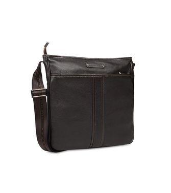 6b580a16 ERMENEGILDO #ZEGNA: Shoulder bag Black - 45218607WK | Men Leather ...