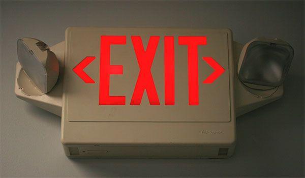 Led Exit Sign Bulb T6 5 Bulb W 20 Leds And Candelabra Base 1w
