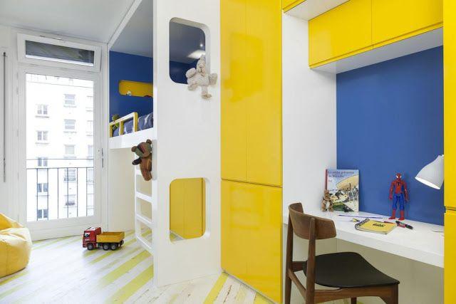 Perfekt Kleine Wohnung Mit 2 Schlafzimmer, Küche, Bad Und Wohnzimmer Perfekt In  Paris Eingerichtet U2013 · Einrichten DesignKleine ...