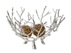 Decorative vessel in iron - Twig Bowl