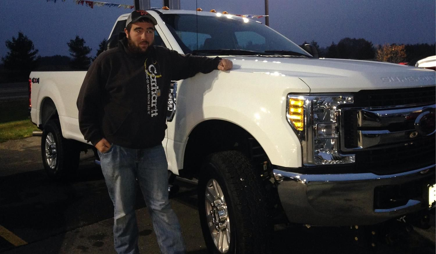 Cody We Hope You Enjoy Your New 2017 Ford F 350 Congratulations
