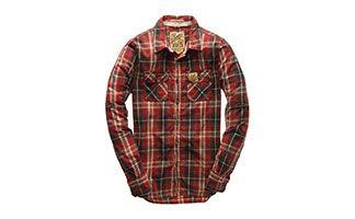 2d9fd5fe391e Superdry Camisa de cuadros | Moda Hombre | Camisas | Camisas, Camisa ...