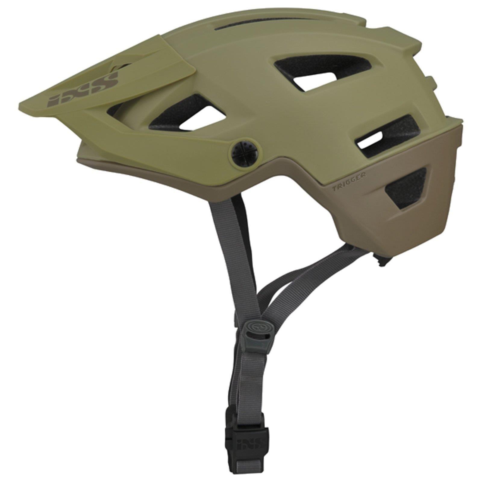 Ixs Trigger Am Fahrrad Helm All Mountain Bike Enduro Dh Downhill Trail Visier Ad Spon Helm Mountain Fahrrad Helmet All Mountain Bike Bicycle Helmet