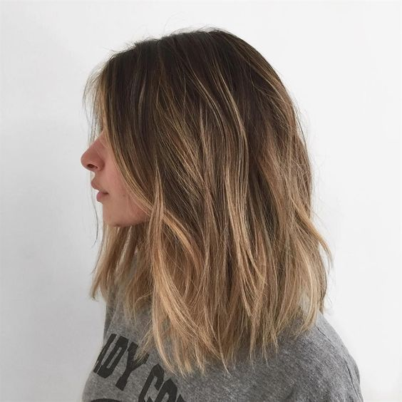 30+ Brown Medium Length with Natural Wave Hairstyle Ideas That Every Fashion Girls Should Try