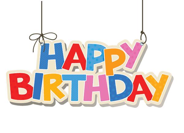 Image Gallery happy birthday text symbols