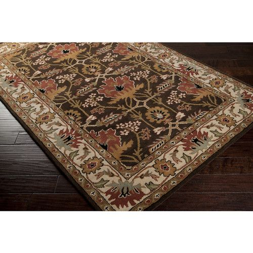 8x11 Arts Crafts Mission Style William Morris Chocolate Brown Wool Area Rug Ebay Wool Area Rugs Hand Tufted Rugs Rugs