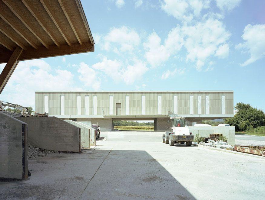 Meister Architektur käferstein meister architekten büro werkhofgebäude ch 8156