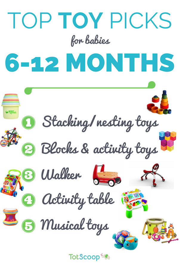 Top Toys For 6 12 Month Infants Totscoop