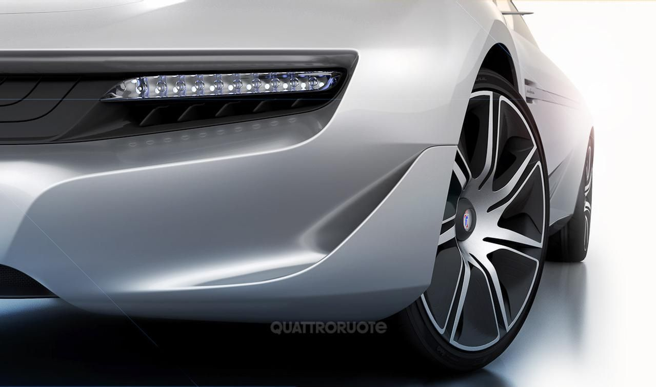 Концепт Pininfarina Cambiano полностью раскрыт