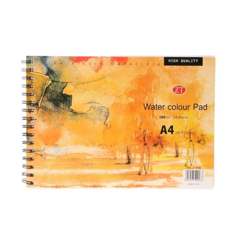 A4 Watercolor Paper Art Artist Sketchbook Sketch Pad Drawing