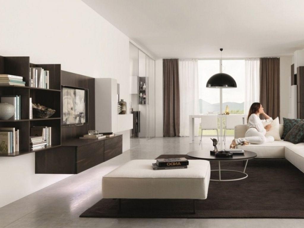 moderne wohnzimmer weis einrichtungsideen wohnzimmer modern braun ...