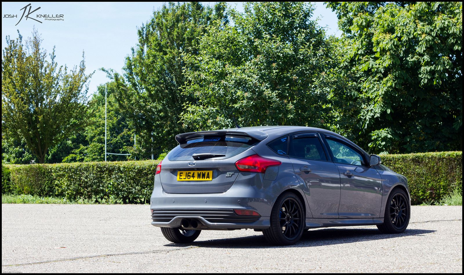 New look for my 2015 stealth st ford focus st forum