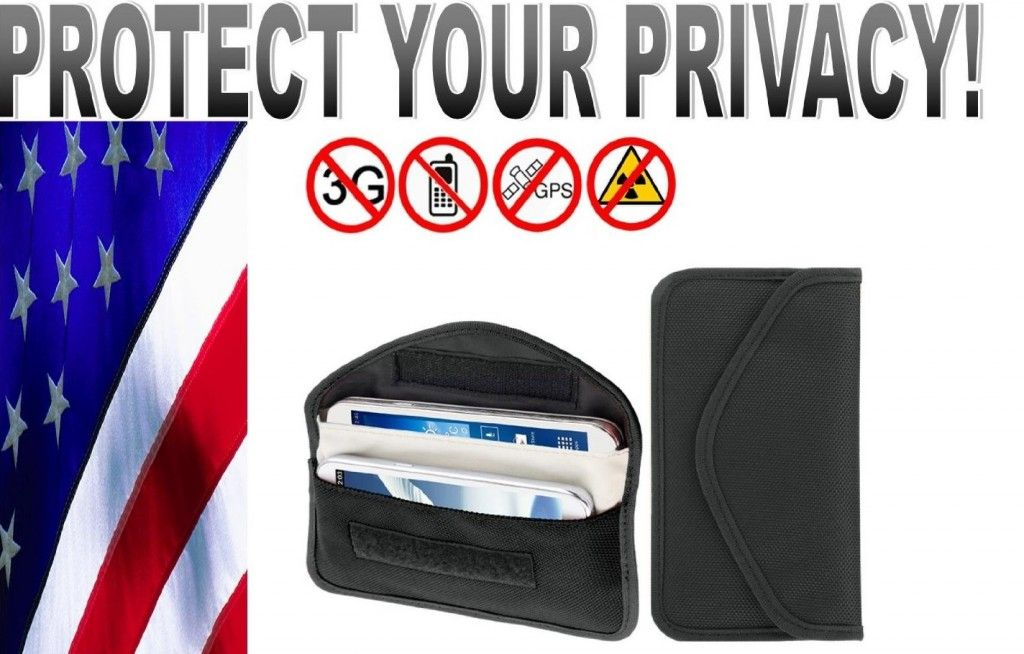 Credit card RFID and cell phone wireless signal jammers. Protect your data.